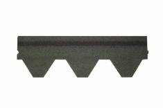 Гибкая черепица Alta-Roof Лайт Зеленый с оттенением А-L-6