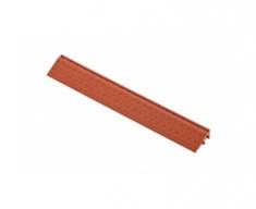 Боковой элемент обрамления с пазами под замки, цвет Коричневый